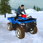 SnowMobile Parking Adventure icon