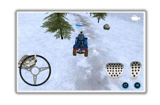 motoneige parking aventure capture d'écran 3