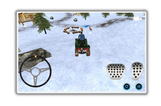motoneige parking aventure capture d'écran 4