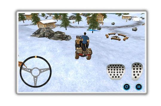 motoneige parking aventure capture d'écran 5
