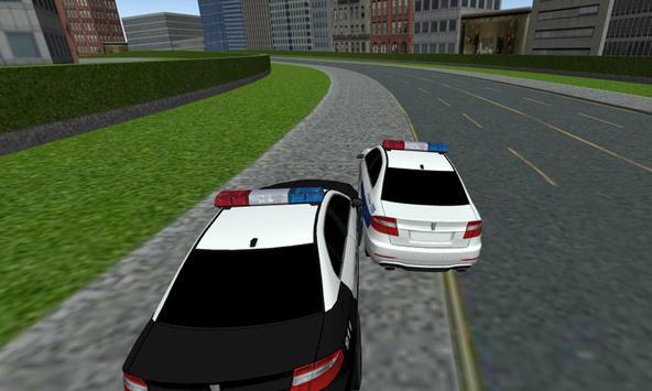 Ultra Police Car Racing poster