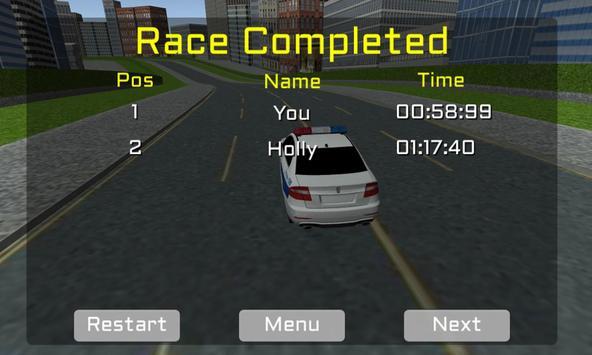 Ultra Police Car Racing screenshot 2