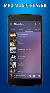 MP3 Player Free - MUSIC Player screenshot 1