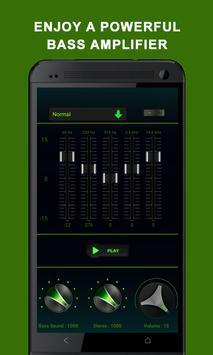 Mp3 Amplifier Bass Booster screenshot 1