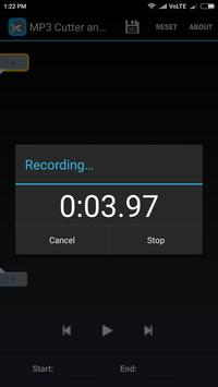 MP3 Cutter and Sound Recorder apk screenshot