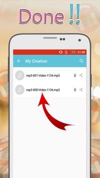 Mp3 Converter - Video to mp3 screenshot 3