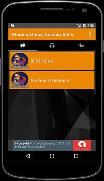 Musica Marco Antonio Solis screenshot 1