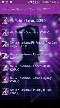 Karaoke Dangdut Top Hits 2017 poster
