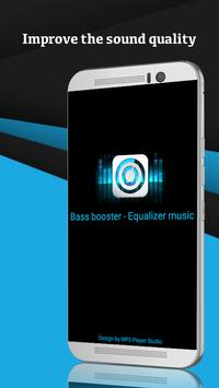 Bass booster - Equalizer music poster