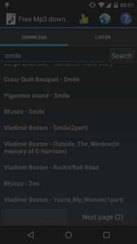Simple+Mp3-Music+Downloader screenshot 3