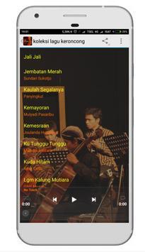 Lagu Keroncong Lengkap apk screenshot