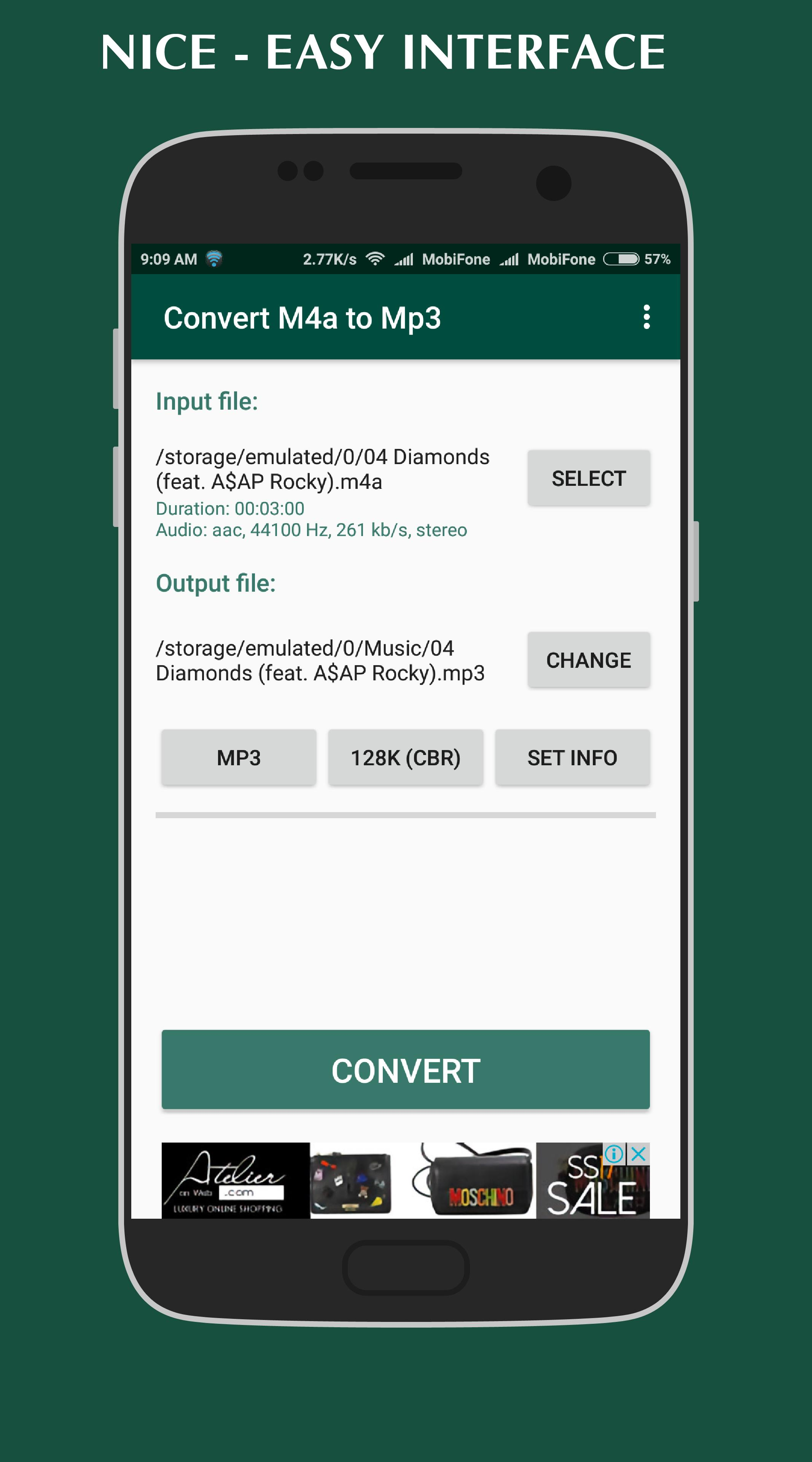 تحويل m4a إلى mp3 for Android - APK Download