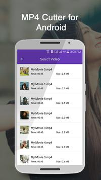 MP4 Cutter for Android apk screenshot