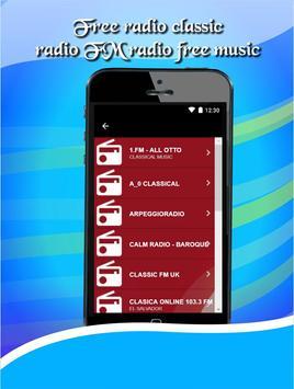 Free radio classic radio FM radio free music apk screenshot