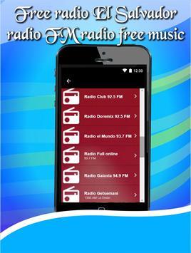 Free radio El Salvador radio FM radio free music apk screenshot