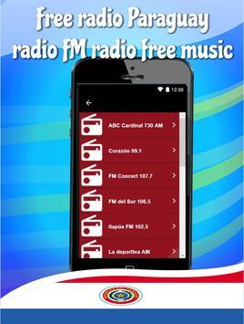 Free radio Paraguay radio FM radio free music poster