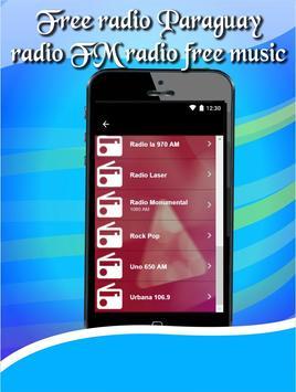 Free radio Paraguay radio FM radio free music apk screenshot
