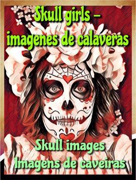 Skull girls - imagenes de calaveras skullgirls poster