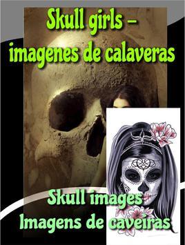 Skull girls - imagenes de calaveras skullgirls apk screenshot