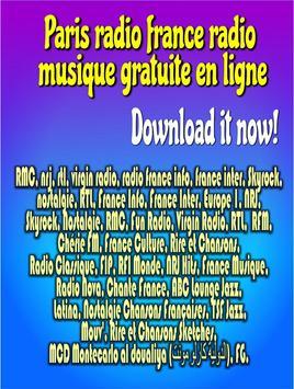 Paris radio france radio musique gratuite en ligne screenshot 3