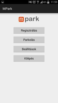 MPark Mobilparkolás App poster