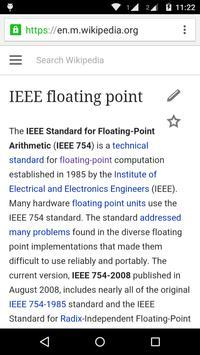 Binary Hex Dec IEEE754 Convert apk screenshot