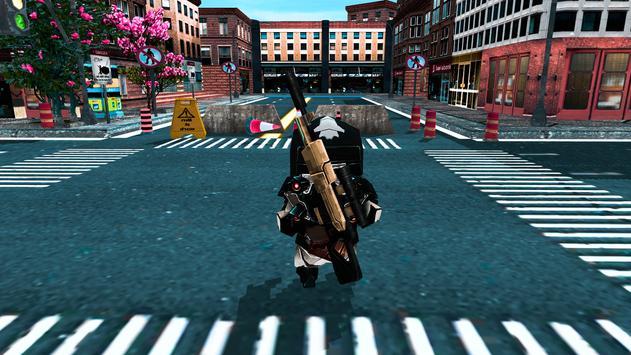 Futuristic Gangster Wars apk screenshot