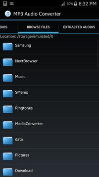 MPG-Video to MP3 Converter screenshot 2