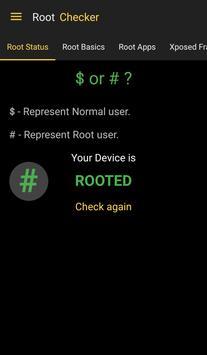 Root Checker screenshot 1