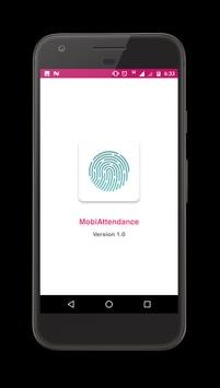 Mobile Attendance poster