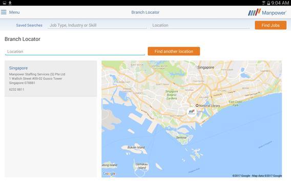 Jobs - Manpower Singapore apk screenshot