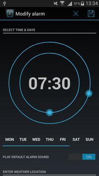 WakeReady Tube & Weather Alarm screenshot 1