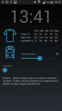 WakeReady Tube & Weather Alarm screenshot 3