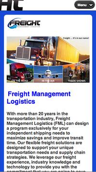 FML Freight poster