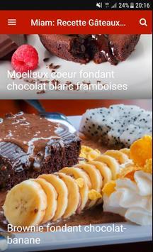 Miam: Recette Gâteaux Facile apk screenshot