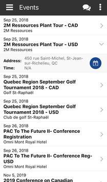 PAC Member Portal screenshot 2