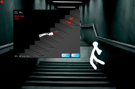Stickman stair fall 2 for android apk download.