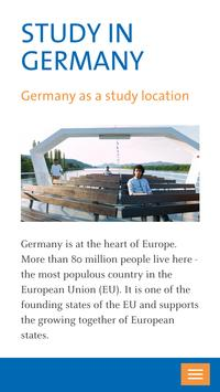 DAAD - Study in Germany poster