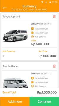 HOP Daily Rent apk screenshot