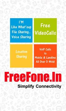 FreeFone apk screenshot