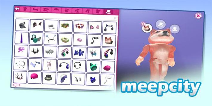 Meepcity Roblox Mobile Guide & Tips poster