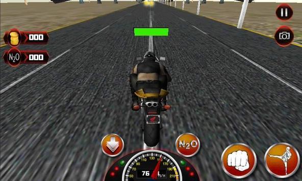 Motor Bike Death Racer poster