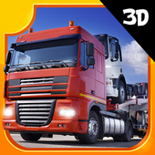 Truck Car Transporter icon