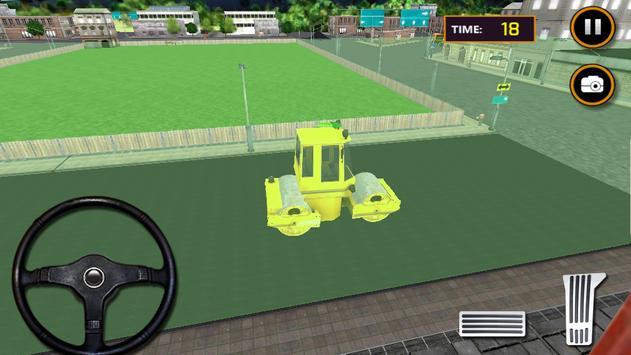 City Road Construction Sim poster
