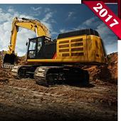 Concrete Excavator Tractor icon