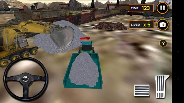 Concrete Excavator Tractor apk screenshot
