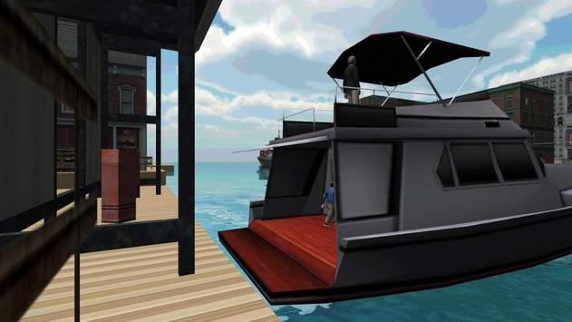 Boat Ship Driving 3D screenshot 1