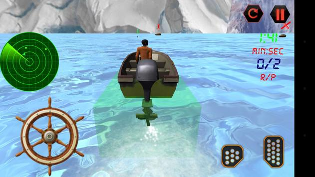 Police Boat Rescue 3D screenshot 12