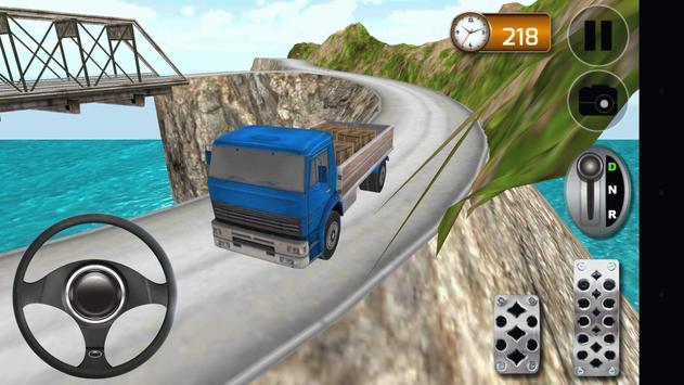 Hill Climb 4x4 Truck Driver poster