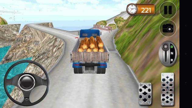Hill Climb 4x4 Truck Driver apk screenshot